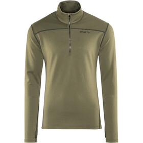 Craft Pin Halfzip Midlayer Men dk olive/black